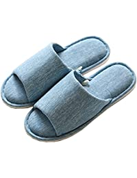 Zapatillas de Estar por casa Mujer Invierno Peluche Cerradas Andar Calienta Pantuflas Slippers Originales Termicas Zapatos