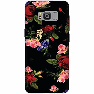 Printland Printed Hard Plastic Back Cover for Samsung Galaxy S8 -Multicolor