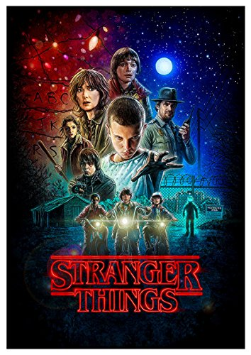 Poster Stranger Things (D) - A3 (42x30 cm)