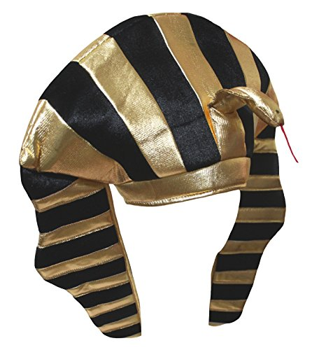 Petitebelle Gold Egypt Pharaoh Hat Unisex Dress Up Party Costume for Children (One ()