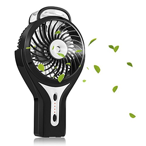 TIanNorth® Mini USB Handheld Humidificador Mist Spray de agua Aire acondicionado Ventilador...