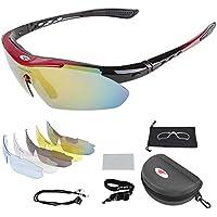 Auntwhale Occhiali da sole da esterni Equitazione Escursionismo Escursionismo Occhiali di protezione UV lqJqX
