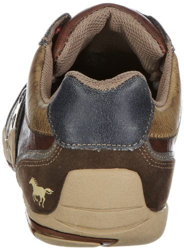 Mustang Schnürhalbschuh, Scarpe stringate uomo marrone (Braun (braun 3))