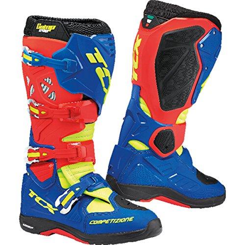 Tcx Comp Off-road-boot (TCX Comp Evo 2 Michelin Motocross Stiefel 41 Blau/Rot)