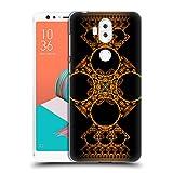Head Case Designs Offizielle Sven Fauth Kreuz Gold Maori Ruckseite Hülle für ASUS Zenfone 5 Lite ZC600KL