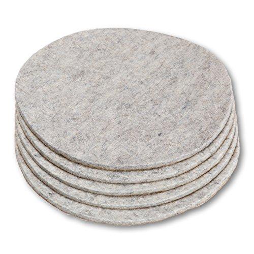 Gran disco, salvamanteles posavasos fieltro lana