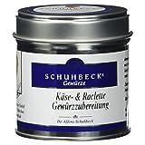 Schuhbecks Käse und Raclette Gewürzzubereitung, 55 g