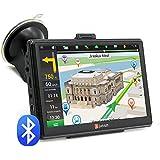 """Navegador GPS para Coche 7"""" Pantalla Táctil con Bluetooth AVIN FM 8GB/256MB Actualización Gratis de Mapa de Europa Toda la Vida - Junsun"""