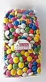 Confetti di Sulmona Ciocolentine al Cioccolato, Colori Assortiti - 1000 gr