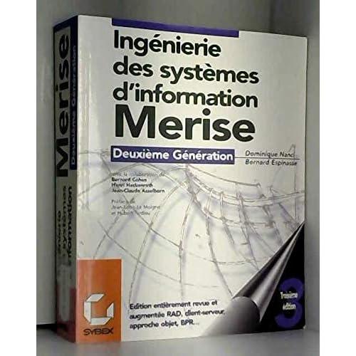 Ingénierie des systèmes d'information : Merise, deuxième génération