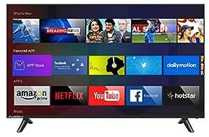 Fortex 109 cm (43 inches) FX43MAC01 Full HD LED Smart TV (Black)