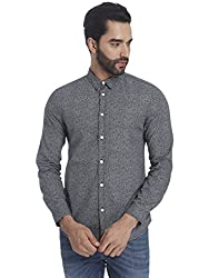 Jack & Jones Mens Casual Shirt (5713235795973_12115744Black_XX-Large)