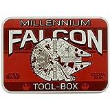 Halcon Milenario nave espacial de Star Wars kessel oficial caja de herramientas roja correr licencia