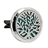IGEMY Stainless Car Air Auto Vent Freshener Essential Oil Diffuser Gift Locket Decor (K)