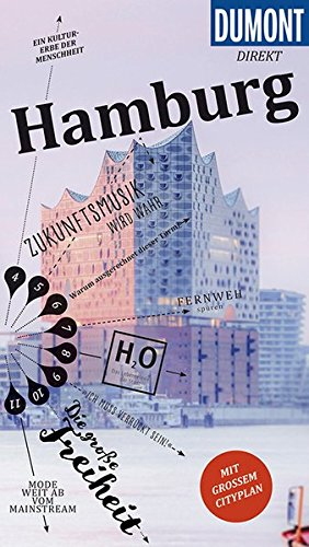 Preisvergleich Produktbild DuMont direkt Reiseführer Hamburg: Mit großem Cityplan