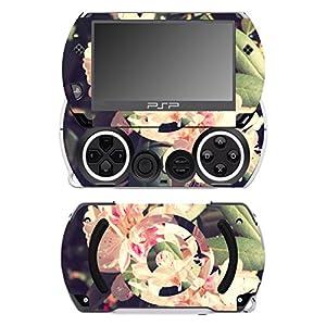 Disagu SF-14232_1057 Design Folie für Sony PSP Go – Motiv Rhododendron geomerisch transparent