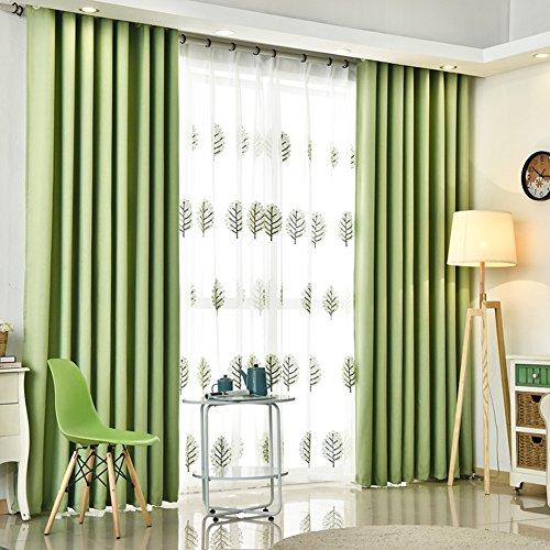 Fenster Curtain modern Panel vorhänge Sunscreen Thermal isoliert vorhänge Bleistift -2 Stück(Kontaktieren sie Mich, wenn Mull gebraucht)-A W59*H106inch(150x270cm)