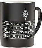 Unbekannt VFL Borussia Mönchengladbach 16985 Fohlenelf-Artikel - Tasse Hymne - Fassungsvermögen: 0, 30 L, Keramik Kaffee-/Teetasse, Mehrfarbig, 10 x 7 x 9 cm,