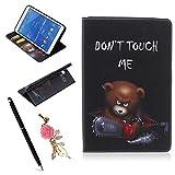 Meeter Custodia Protettiva per Samsung Galaxy Tab 4 8.0 inch/SM-T330 / T331 / T335, Smart Case Cover Ultra Sottile di Protezione Elevato con Bordi Paraurti di TPU e Auto Wake & Sleep
