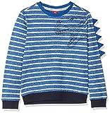 s.Oliver Jungen Sweatshirt 63.901.41.4105, Blau (Blue Stripes 55g4), 116 (Herstellergröße: 116/122/REG)