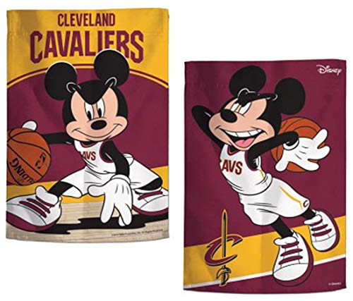 ASKYE NBA Cleveland Cavaliers Garden Flag, 2 Sided Print for Party Outdoor Home Decor(Size: 12.5inch W X 18 inch H) - Cleveland Cavaliers-decal