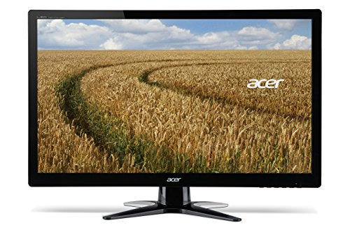 Acer G246HY 23.8 inch Wide screen Monitor (6 ms, 100M:1, ACM, 250nits, IPS, LED, HDMI, DVI, Acer EcoDisplay) - Black