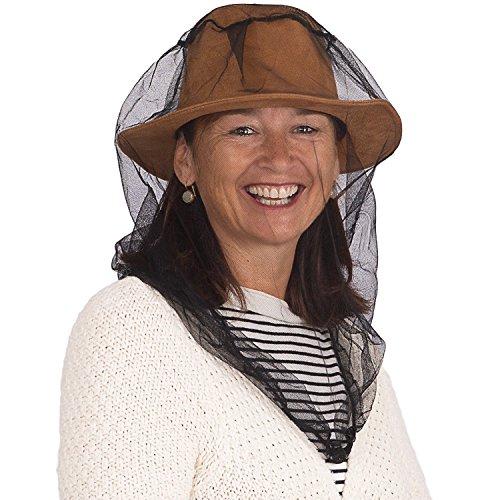 Abdeckung Hut, Mütze, (PREMIUM MÜCKEN & MOSKITO KOPFNETZ von EVEN Naturals, Moskitonetz, Trage- & Geschenktasche und Kostenloses eBook, Insektenschutznetz, Weicher Strapazierfähiger Mückenschutz für alle Naturliebhaber)