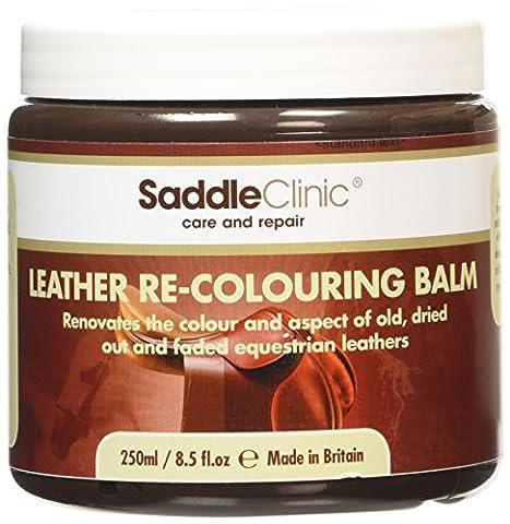 Saddle Clinic Leather Balm - Brown, 250 ml