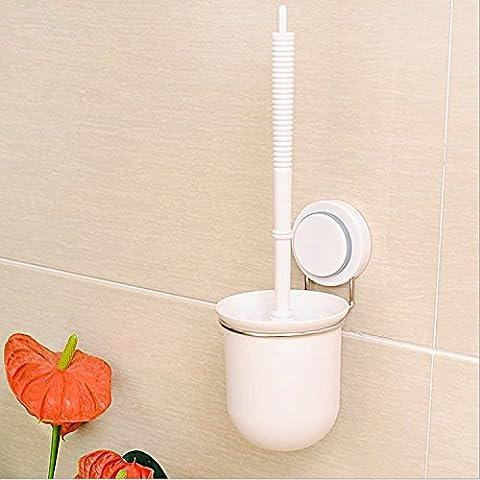 sdkky WC WC-Bürste Saugnapf Halter mit Saugnapf WC-Bürstenhalter SET Creative Magic WC-Bürste WC-Bürste Wand
