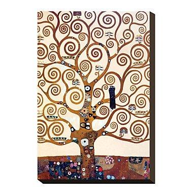 Piteng™ Route bordée d'arbres menant à la maison Manor à Kammer, Haute-Autriche, 1912 par Gustav Klimt célèbre toiles tendues , 20