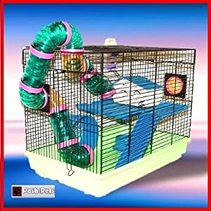 Hamster Cage Garfield Fun House Hamsters by DAHAK INTERNATIONAL LIMITED