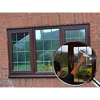 Silver Reflective Window Film (Solar Control & Privacy Tint - One Way Mirror / Mirrored Glass) (50cm x 2 metres)