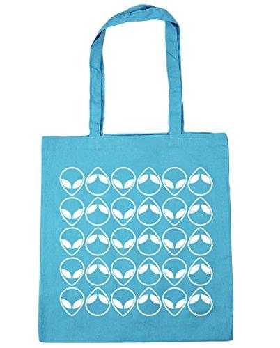 Blau Strandtasche Surf Damen Blue Hippowarehouse qE5PBO