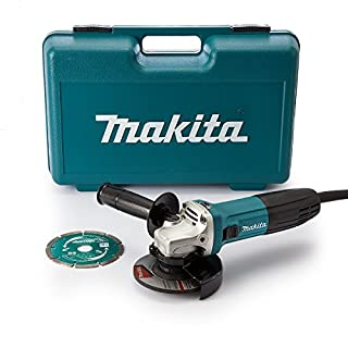 Makita GA4530RKD Angle Grinder Slide Switch, 115 mm, 720 W (B01BHZ9BOM) | Amazon price tracker / tracking, Amazon price history charts, Amazon price watches, Amazon price drop alerts