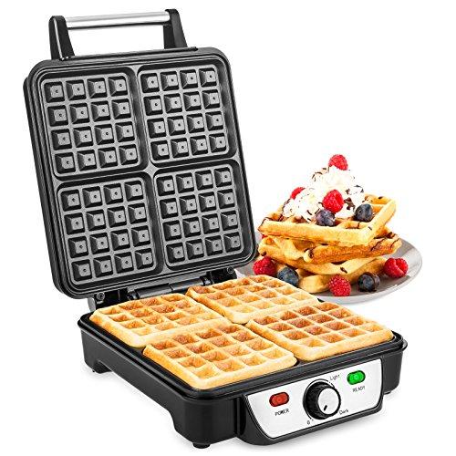 Savisto Large Quad Waffle Maker ...