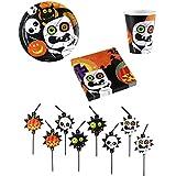 """Halloween Kids Partyset """"Friendly Mummy"""" Partygeschirr"""