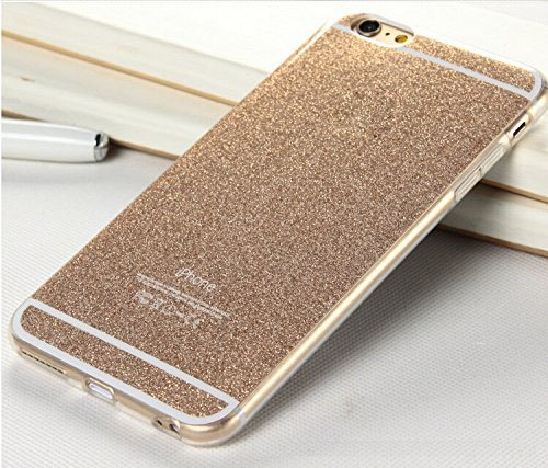 CORST Ultra Thin Bling Luxus Tasche Protection Kristall Case,Glitzerfolie Schutzfolie For Apple iPhone6 Plus/6S Plus-Gold (Cover Iphone6 Bling Plus)