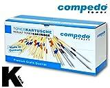 Compedo Premium Toner black/schwarz (15.000 Seiten) ersetzt Utax Nr. 6116 10067 für Triumph-Adler DC 2116, 2120, 2216, Triumph-Adler Deskcopy 2116, 2120 Utax CD 1116, 1120, 1216 u. a.