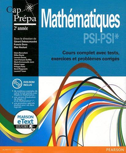Mathématiques PSI-PSI* (Inclus eText)