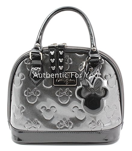 disney-minnie-boutique-loves-mickey-argent-en-relief-mini-sac-sac-sac-a-main-de-bowling