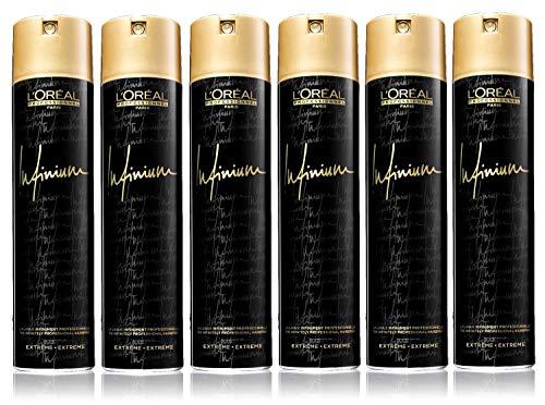 6er Infinium Extreme Hairspray Loreal Professionnel Haarspray Lack 500 ml