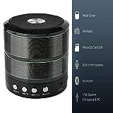 SWAPKART Mini Portable Bluetooth 4.1 Speaker with Mic, 3.5 mm AUX, Micro SD