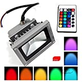 #7: Tiny Deal 85-265V 10W 900LM Remote Control LED Flood Light