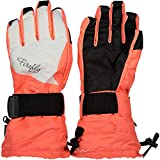 Firefly Handschuhe Azura Ii - Red Light/White - Handschuhe-Damen, Größe #:6.5