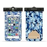 Kigurumi Wasserdichte Tasche & Wasserdichte Handytasche für iPhone 7/ 6s / 6s Plus / 6 / 5s / 5 / 5C/SE,Galaxy S7/S6,Huawei P8/P9 usw bis zu 11 Zoll