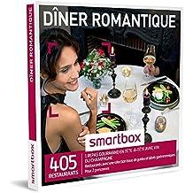 SMARTBOX - Coffret Cadeau - DINER ROMANTIQUE - 380 restaurants avec une sélection issue de guides et labels gastronomiques