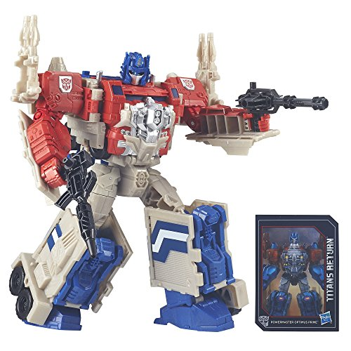 Transformers Generations Leader PowerMaster Optimus Prime Action Figure (Produzione sospesa)