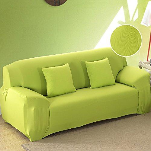 Unbekannt New_Soul - Sofabezug Sofaüberwurf Elastisch Sofahussen (Grün, 2-Sitzer)