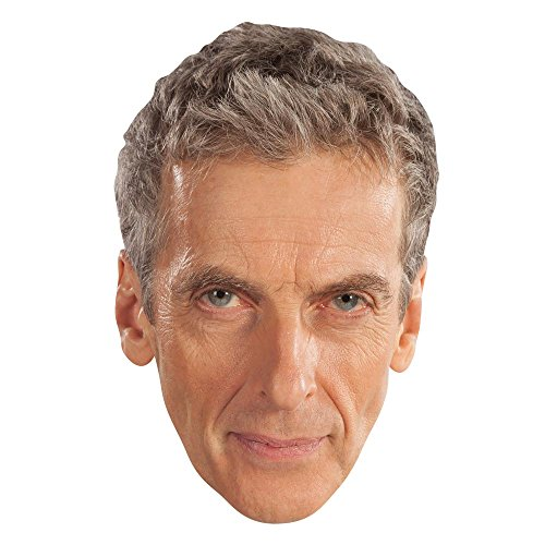Star Einbauöffnungen sm189der Zwölfte Doctor Who Peter Capaldi Maske, Hand/A