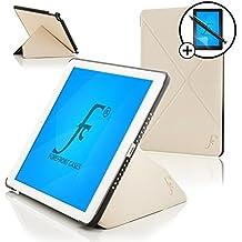 Forefront Cases® Nueva Origami Funda Case Cover Protectora Plegable para Apple iPad Air 2 / iPad 6 – Función automática inteligente de Suspensión/Encendido + Lápiz óptico y protector de pantalla